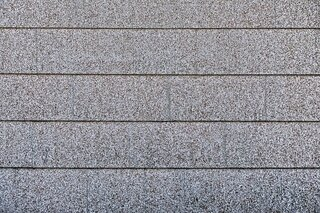 Photograph of composite roof shingles