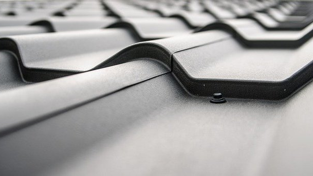 Picture of a metal roof
